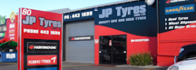 JP Tyres Glenfield Auckland Workshop